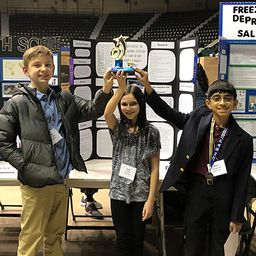 Middle Schoolers Head to State After Regional Science Fair